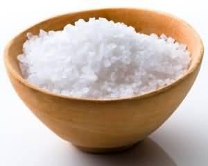 морская соль от перхоти