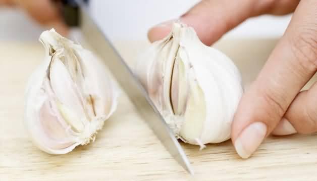 чеснок против грибка