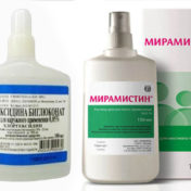 Мирамистин или хлоргексидин